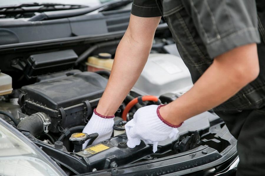 車整備のイメージ